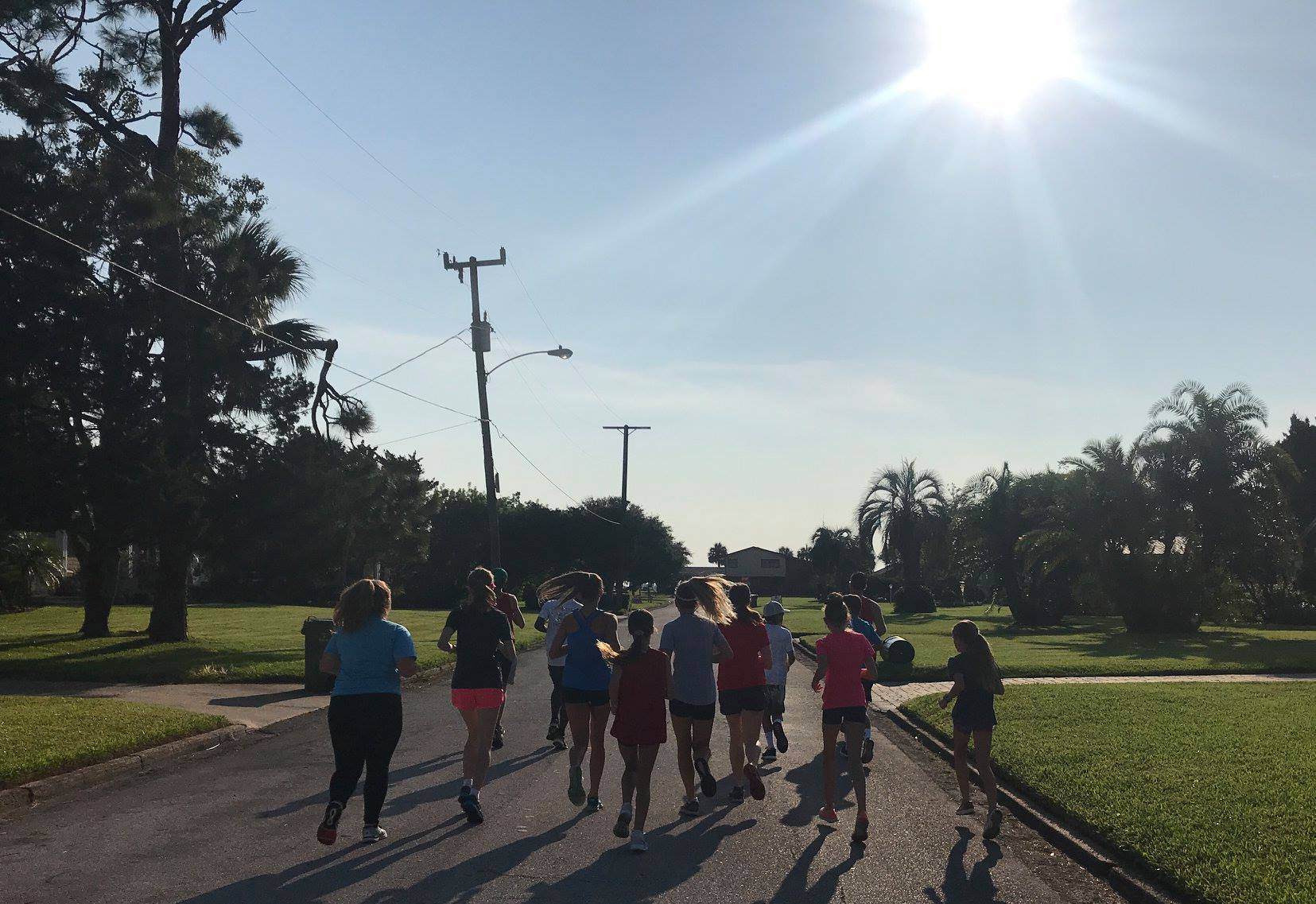 Photo of ACRR campers training